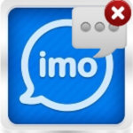 Как удалить переписку в Imo