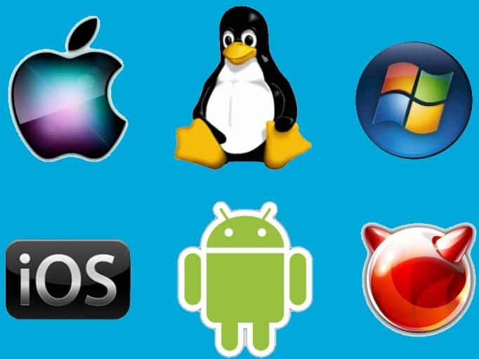 Различные операционные системы