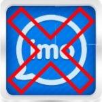 Как удалить Imo