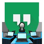 Как провести вебинар через Google Hangouts