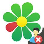 Как удалить контакт в ICQ