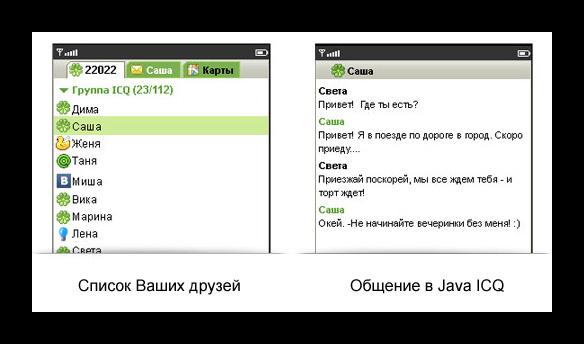 Картинка ICQ для Java