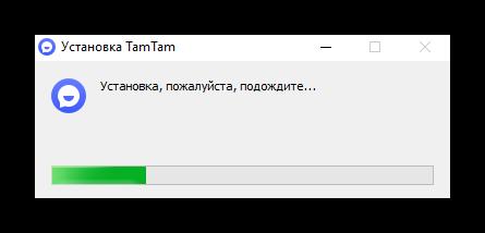 Установка ТамТам на Windows