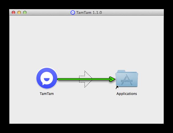 Установка ТамТам на macOS