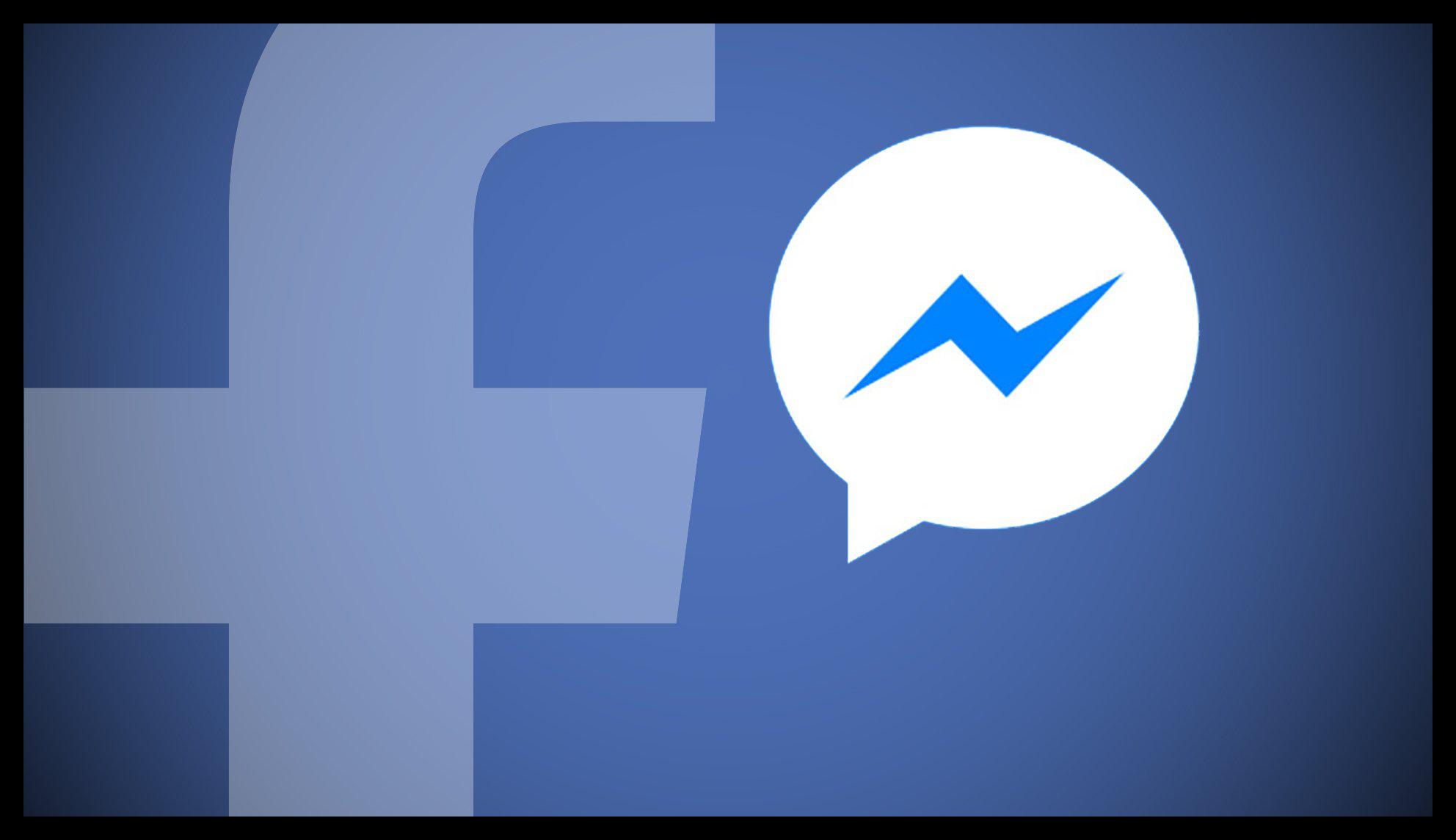 Картинка Facebook и Facebook Messenger